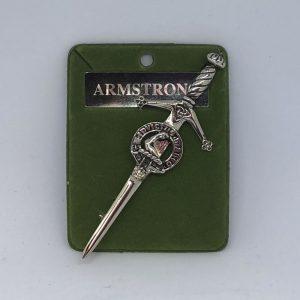 Armstrong Clan Crest Kilt Pin