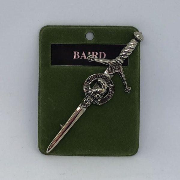Baird Clan Crest Kilt Pin