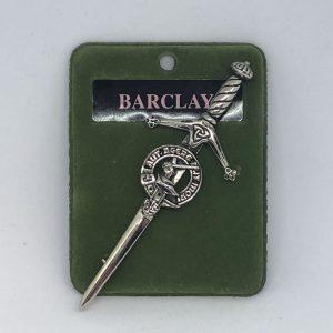 Barclay Clan Crest Kilt Pin