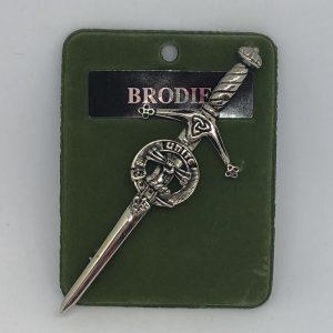 Brodie Clan Crest Kilt Pin