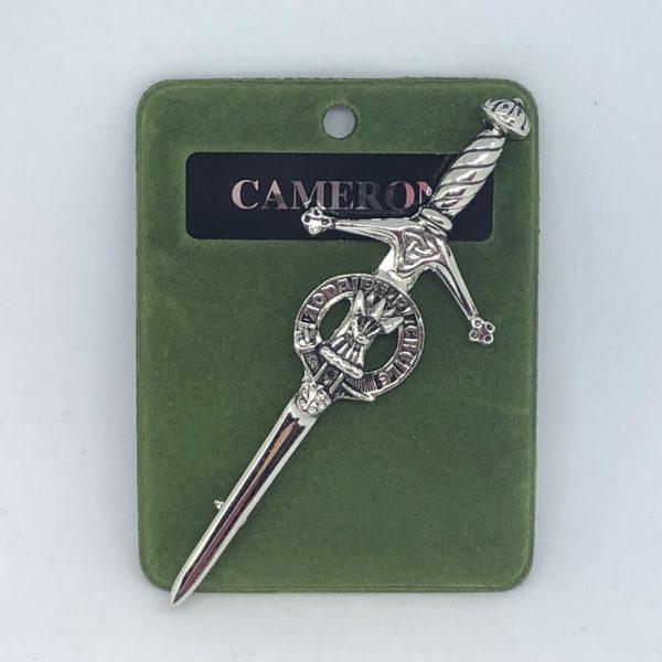 Cameron Clan Crest Kilt Pin