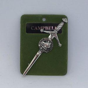 Campbell Clan Crest Kilt Pin