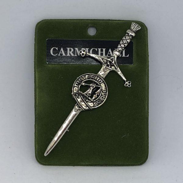 Carmichael Clam Crest Pin