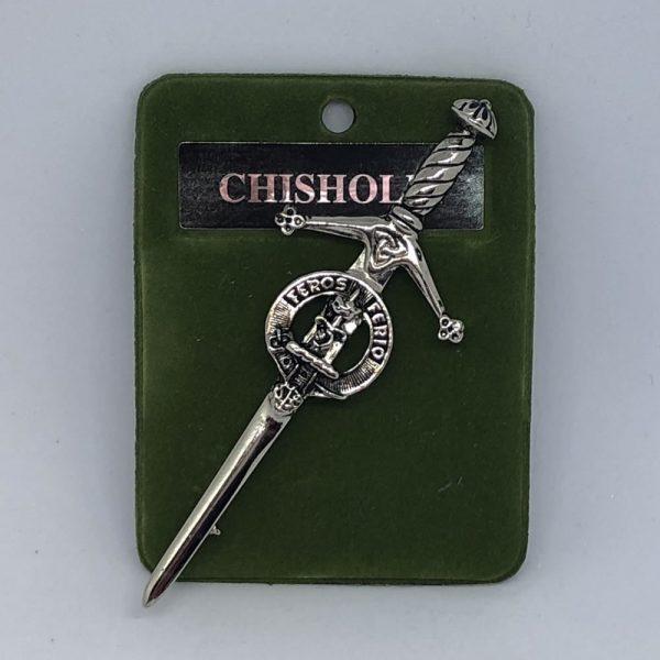 Chishlom Clan Crest Pin