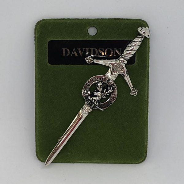 Davidson Clan Crest Kilt Pin