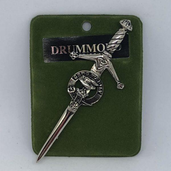 Drummond Clan Crest Kilt Pin