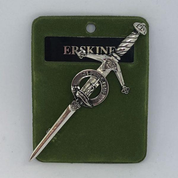 Erskine Clan Crest Pin