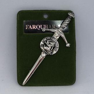 Farquharson Clan Crest Kilt Pin