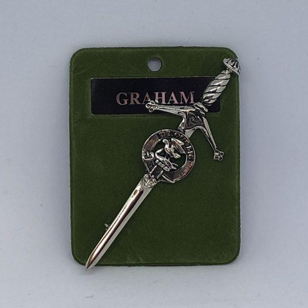Graham Clan Crest Kilt Pin