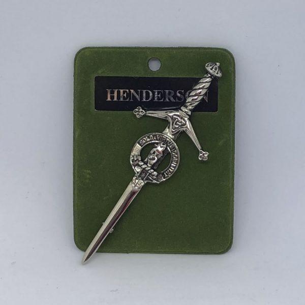 Henderson Clan Crest Kilt Pin