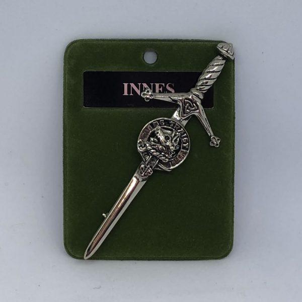 Innes Clan Crest Kilt Pin