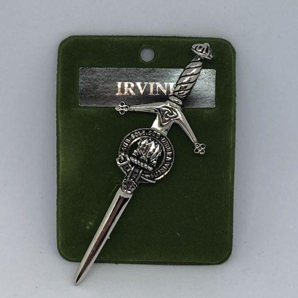 Irvine Clan Crest Pin