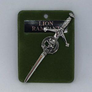 Lion Rampant Miscellaneous Kilt Pin