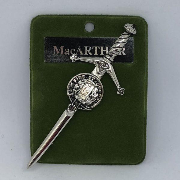 MacArthur Clan Crest Pin