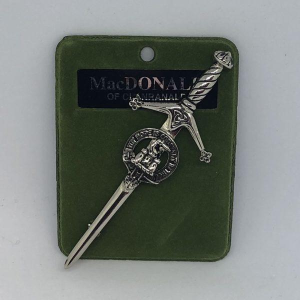 MacDonald of Clanranald Clan Crest Pin