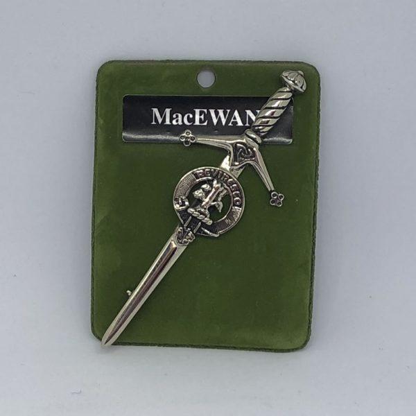 MacEwan Clan Crest Kilt Pin