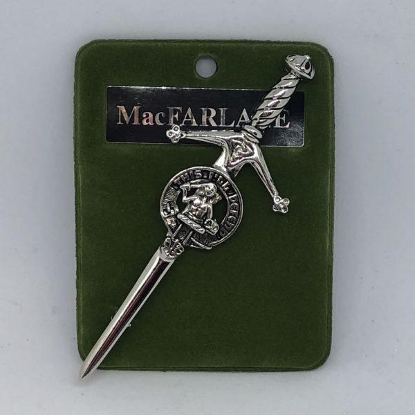 MacFarlane Clan Crest Pin