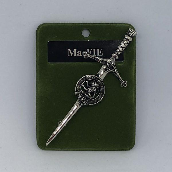 MacFie Clan Crest Kilt Pin