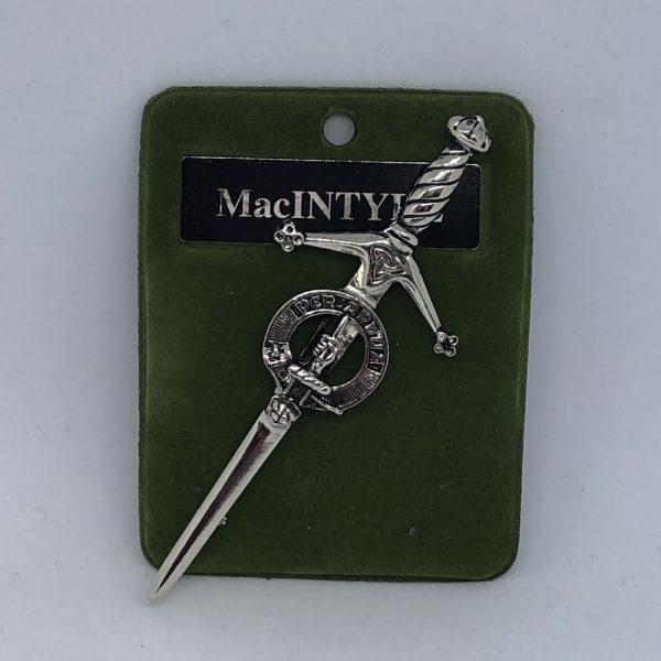 MacIntyre Clan Crest Pin