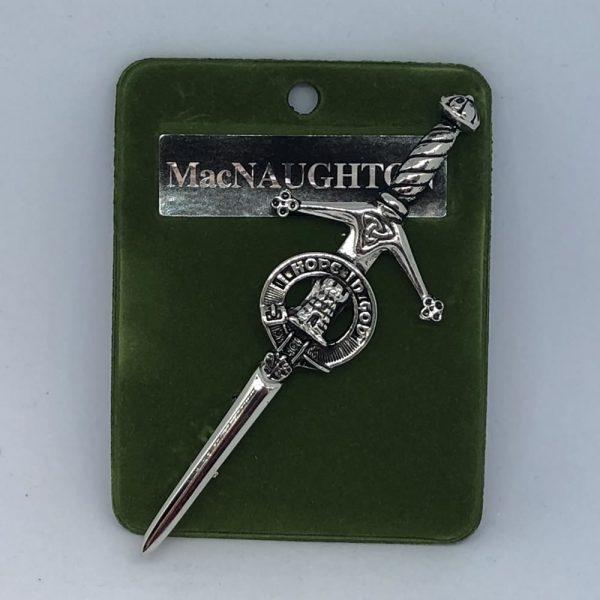 MacNaughton Clan Crest Pin
