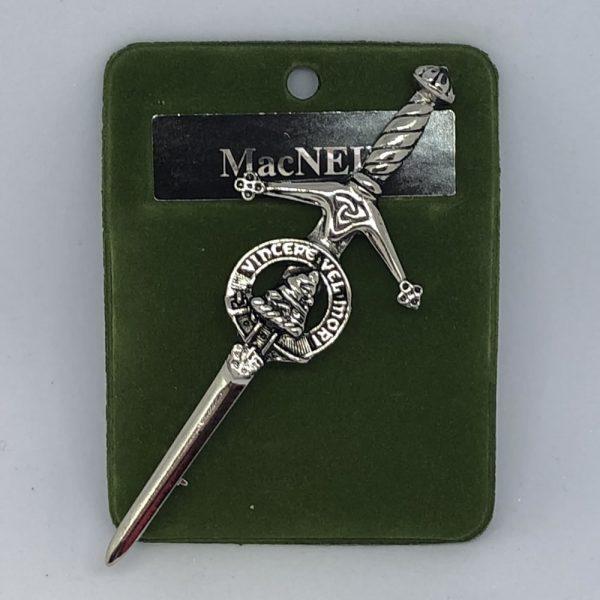 MacNeil Clan Crest Kilt Pin