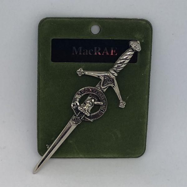 MacRae Clan Crest Kilt Pin