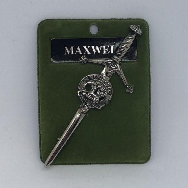 Maxwell Clan Crest Kilt Pin