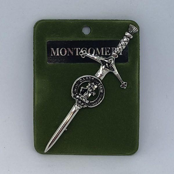 Montgomery Clan Crest Kilt Pin