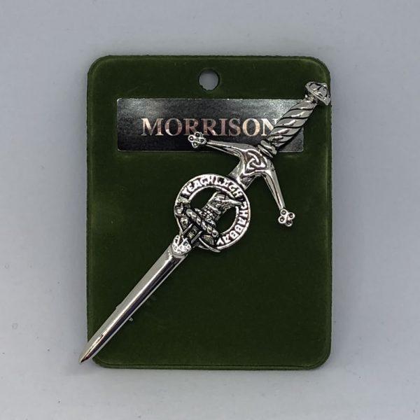 Morrison Clan Crest Kilt Pin