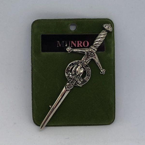 Munro Clan Crest Kilt Pin