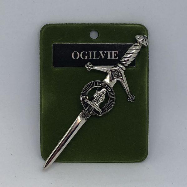 Ogilvie Clan Crest Kilt Pin