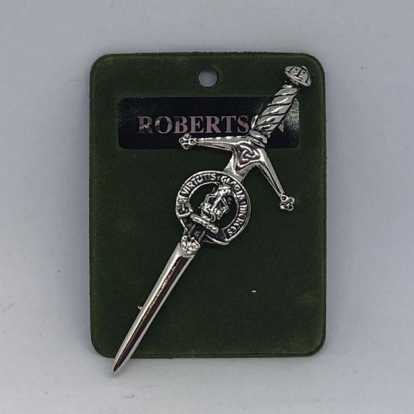 Robertson Clan Crest Kilt Pin