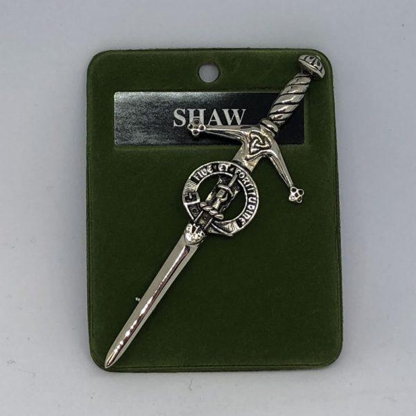 Shaw Clan Crest Kilt Pin