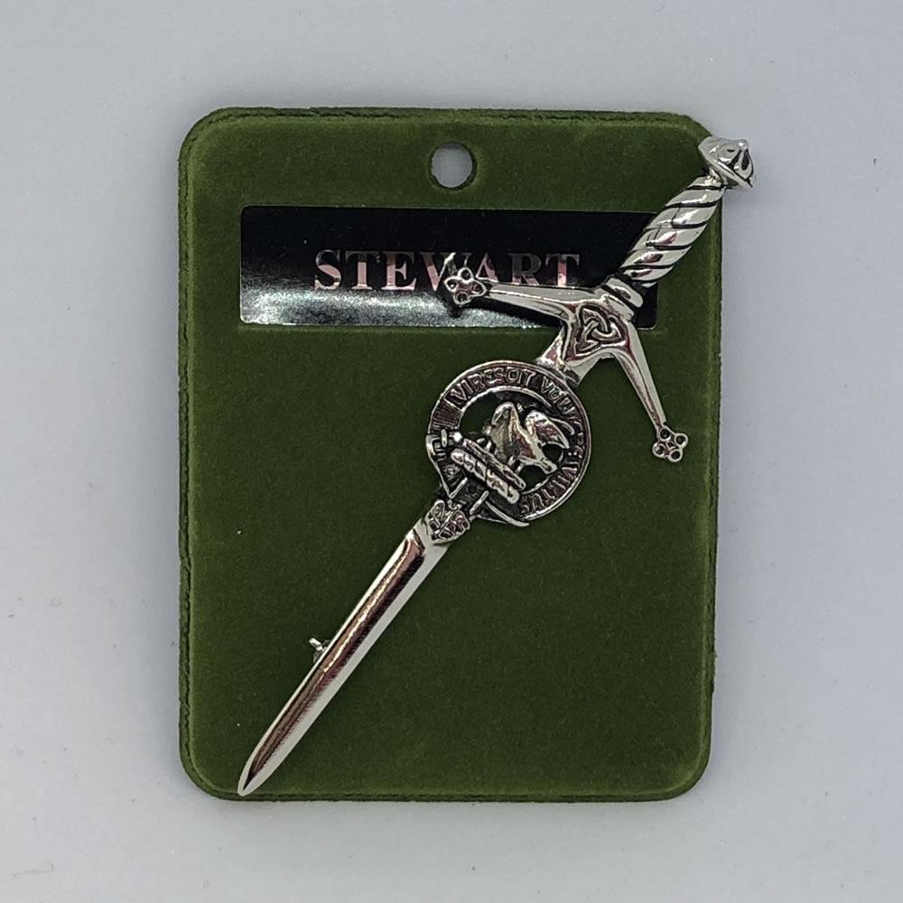 Stewart Clan Crest Kilt Pin