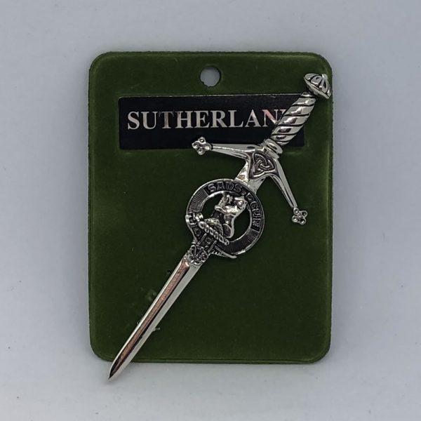 Sutherland Clan Crest Kilt Pin