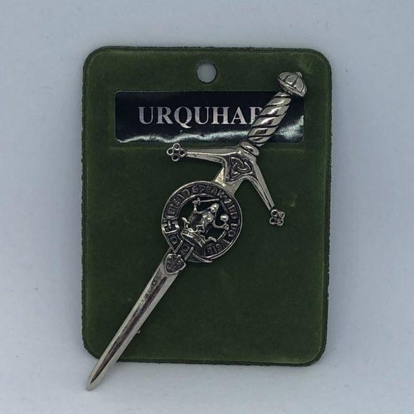 Urquhart Clan Crest Kilt Pin