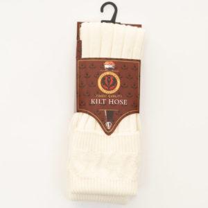 St Kilda Socks in Cream